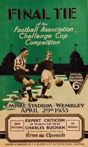 fa cup final 1932 to 33 prog