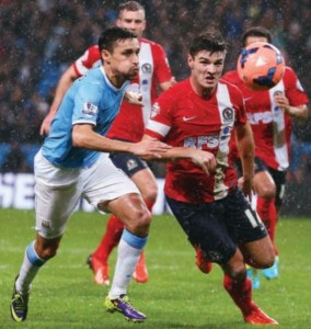 blackburn home fa cup replay 2013 to 14 action