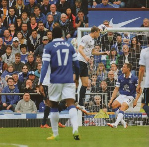everton away 2013 to 14 1st dzeko goal