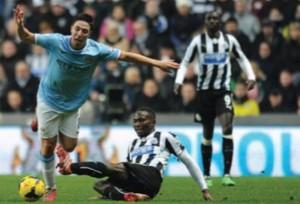newcastle away 2013 to 14 nasri injury