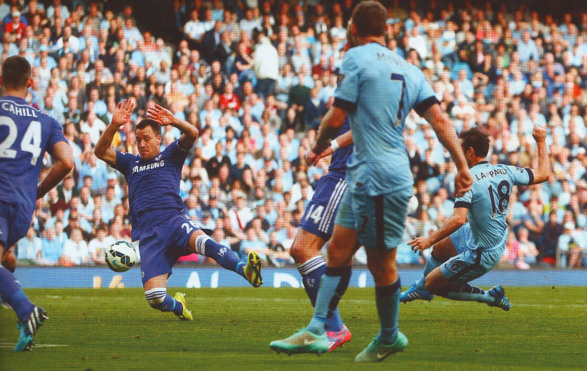 chelsea home 2014 to 15 lampard goal