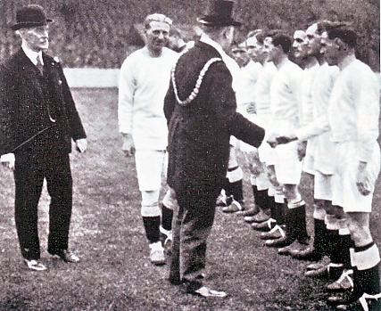 sheff utd home 1923 TO 24 lord mayor