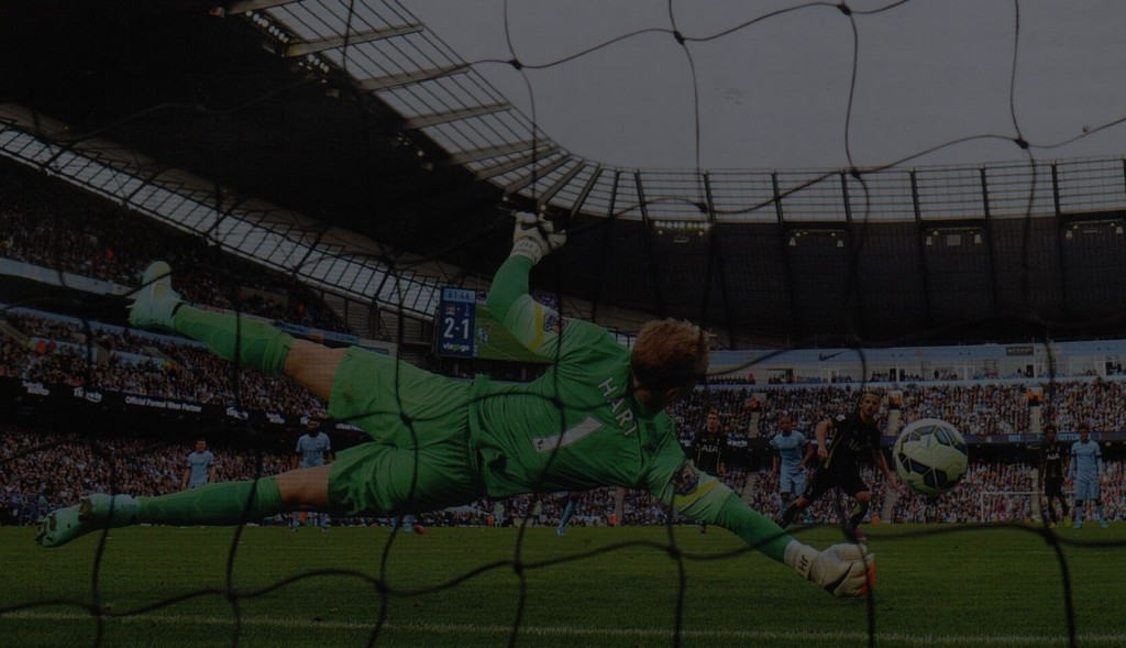 tottenham home 2014 to 15 hart penalty save