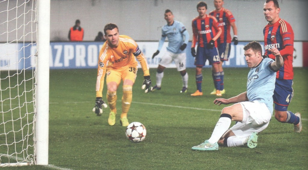 cska moscow away 2014 to 15 milner goal