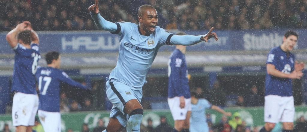 everton away 2014 to 15 fernandinho goal