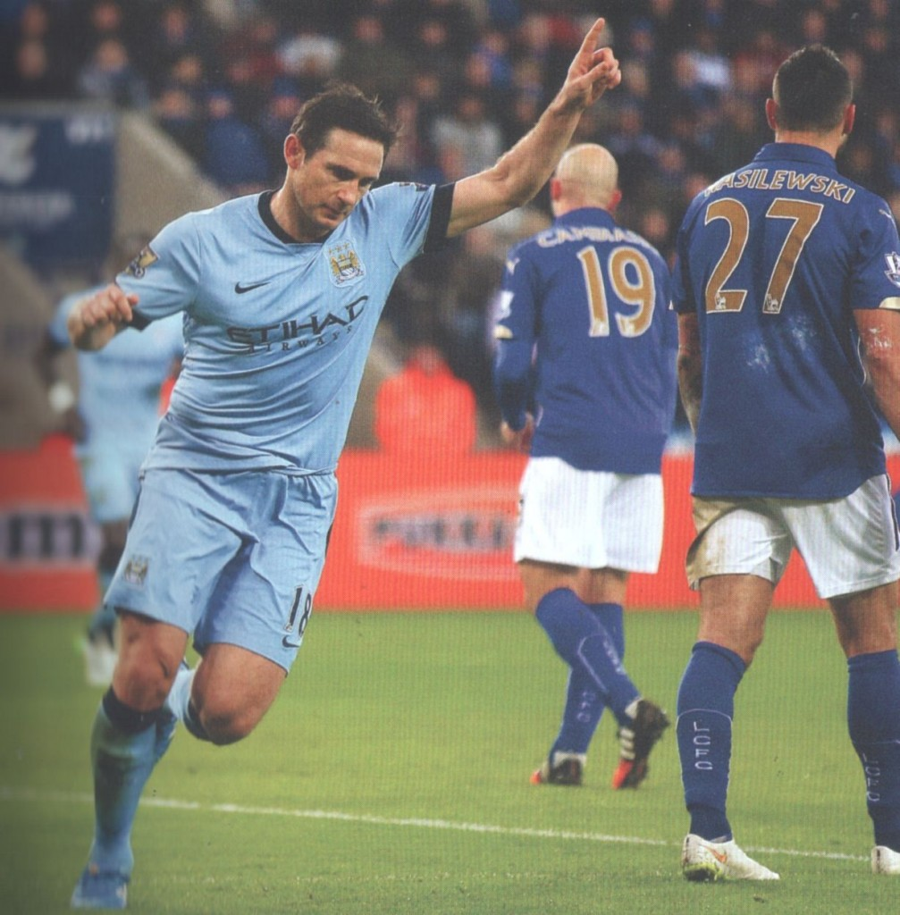 leicester away 2014 to 15 lampard goal