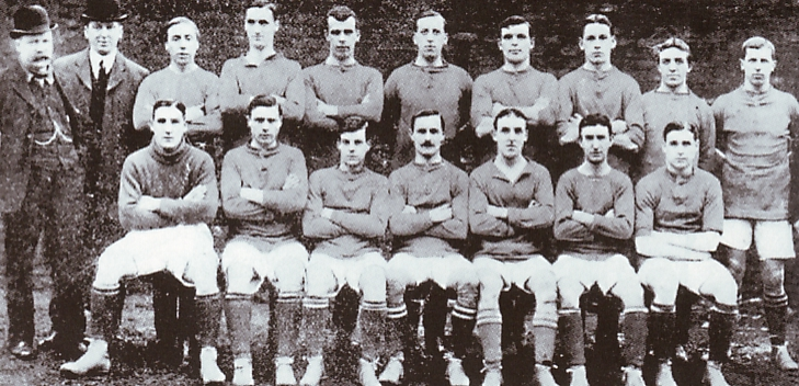 1908 to 09 team group