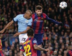 barcelona away 2014 to 15 action