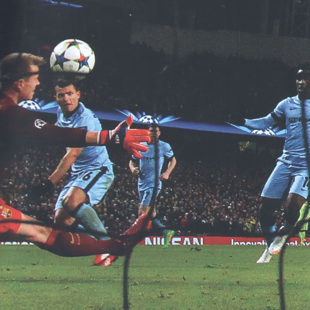 barcelona home 2014 to 15 sergio goal