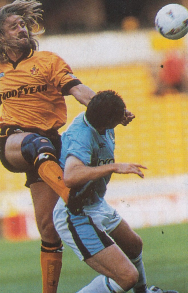 wolves friendly 1995 to 96 action