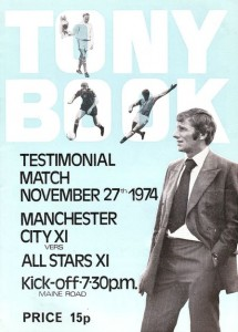 TONY BOOK  testimonial 1974 to 75 prog