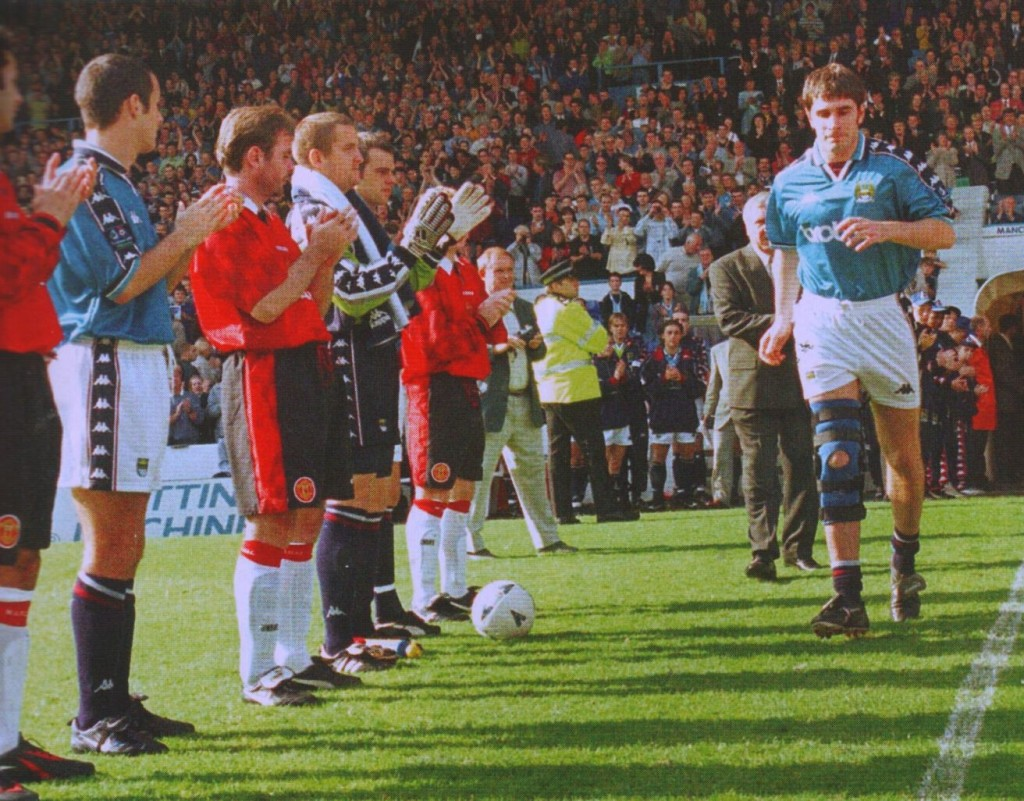 manchester united paul lake testimonial 1997 to 98 applause