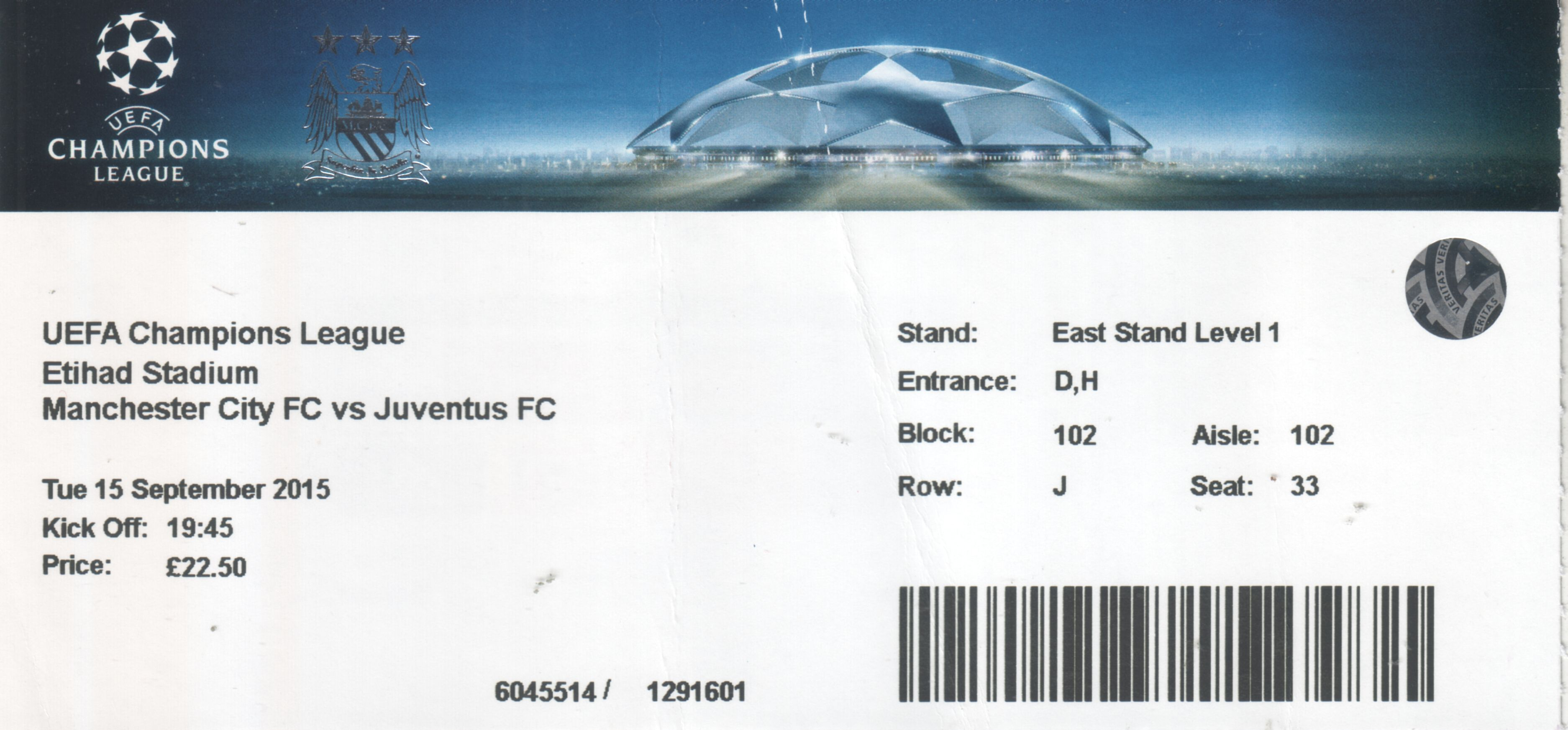 Manchester City V Juventus Uefa Champions League Group D 2015 16 City Til I Die