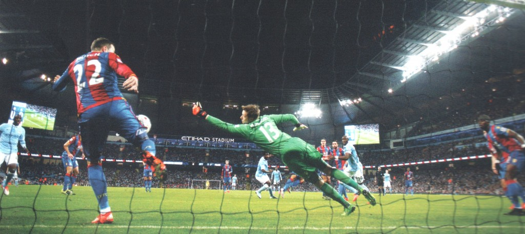 crystal palace capital one cup 2015 to 16 bony goal