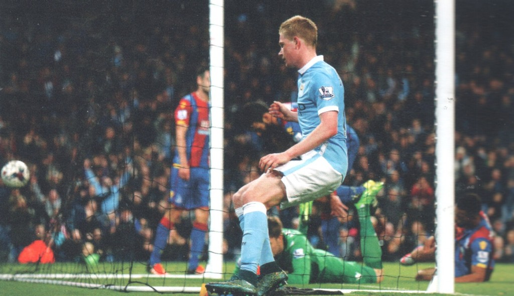 crystal palace capital one cup 2015 to 16 de bruyne goal