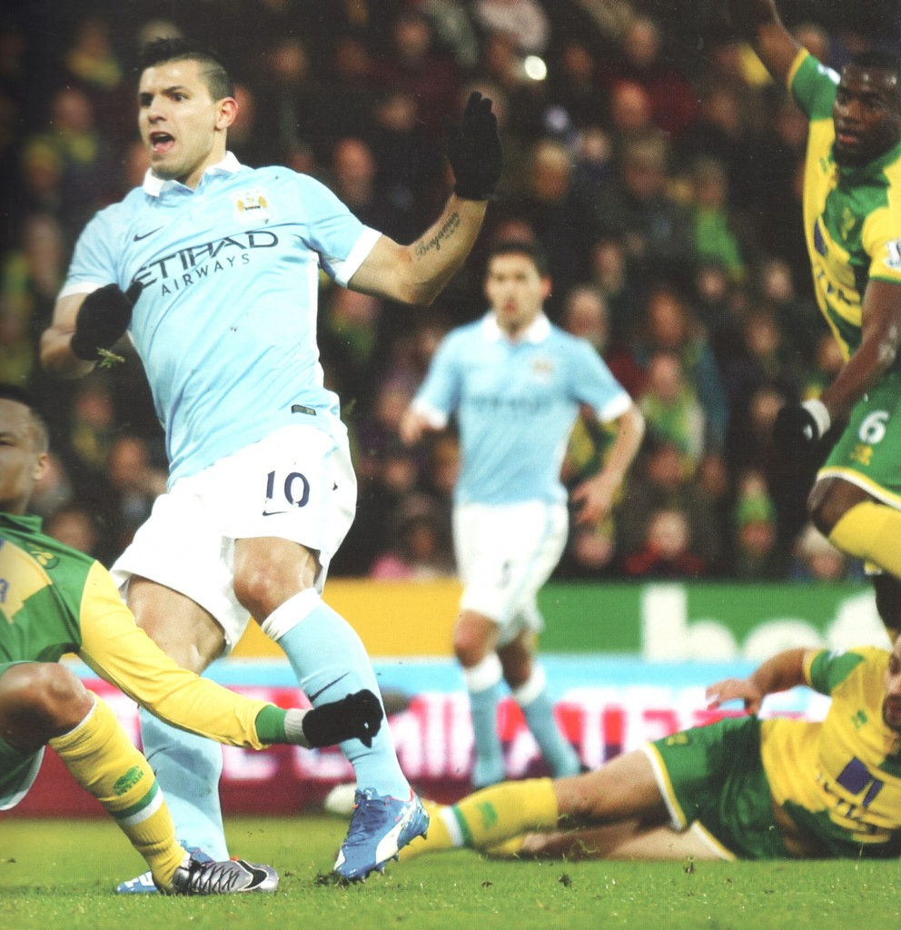 norwich away 2015 to 16 aguero goal