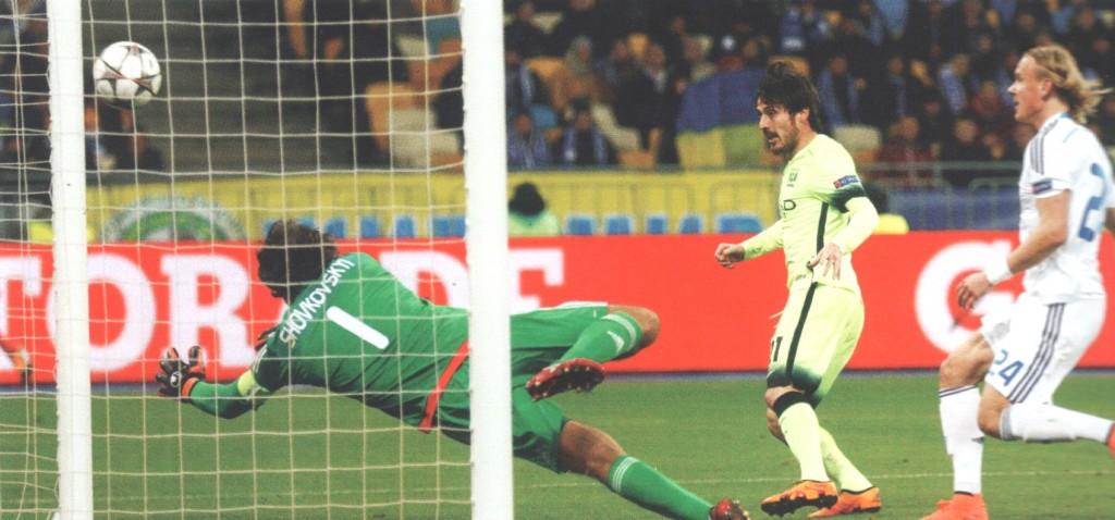 dynamo kiev away 2015 to 16 silva goal