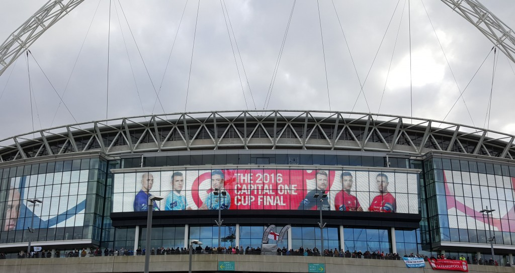 liverpool capital one cup final 2015 to 16 wembley sign