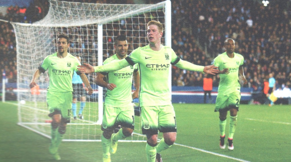 psg away 2015 to 16 de bruyne goal