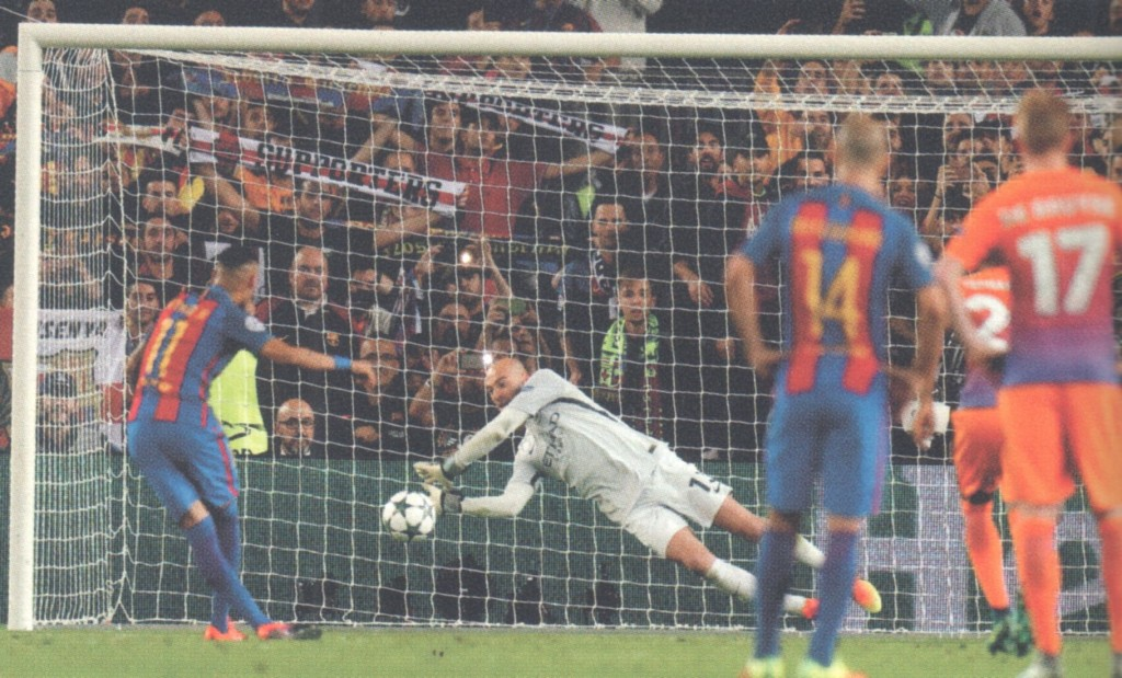 barcelona away 2016 to 17 penalty save