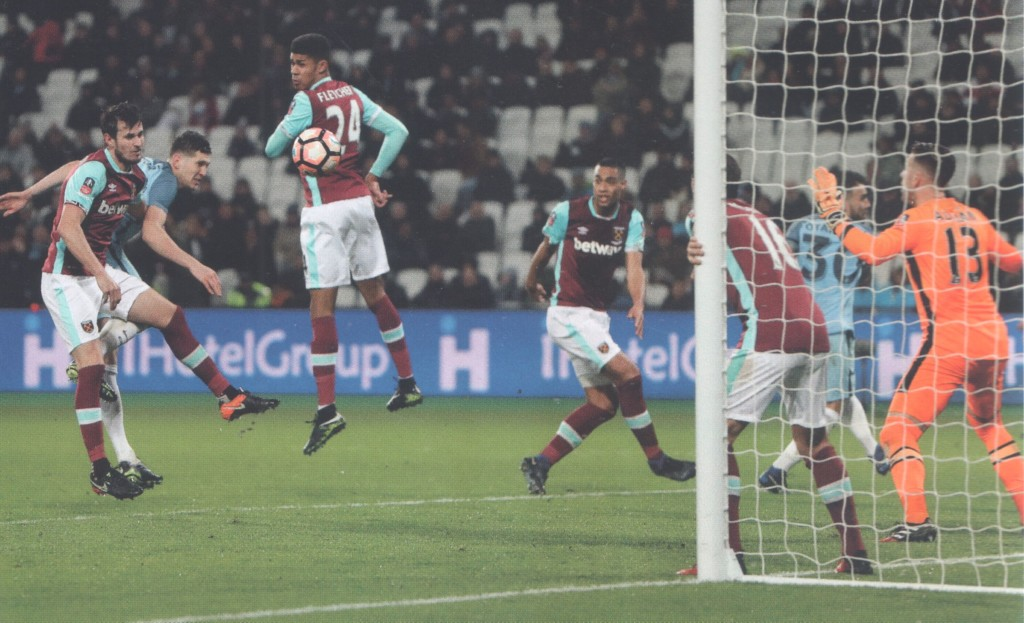west ham fa cup 2016 to 17 stones goal
