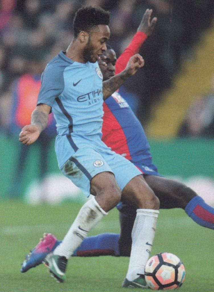 crystal palace fa cup 2016 to 17 sterling goal