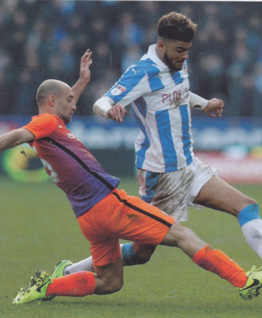 huddersfield away 2016 to 17 action 2