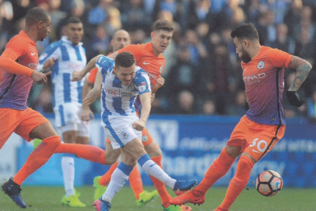 huddersfield away 2016 to 17 action 3
