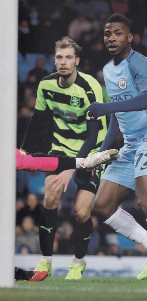 huddersfield home 2016 to 17 iheanacho goal