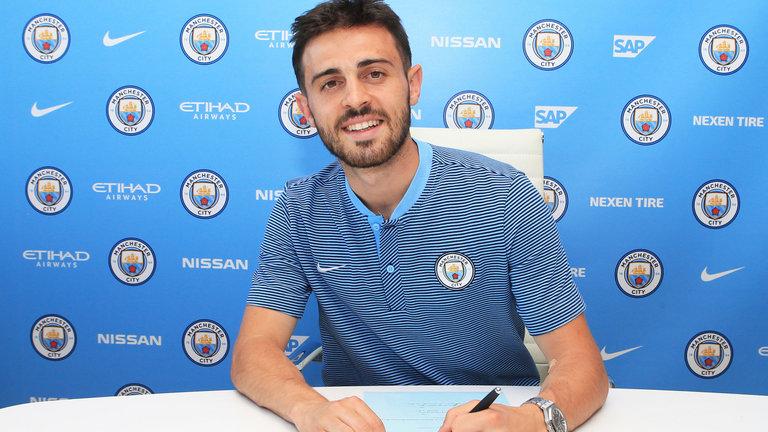 Bernado Silva signs 2017 to 18