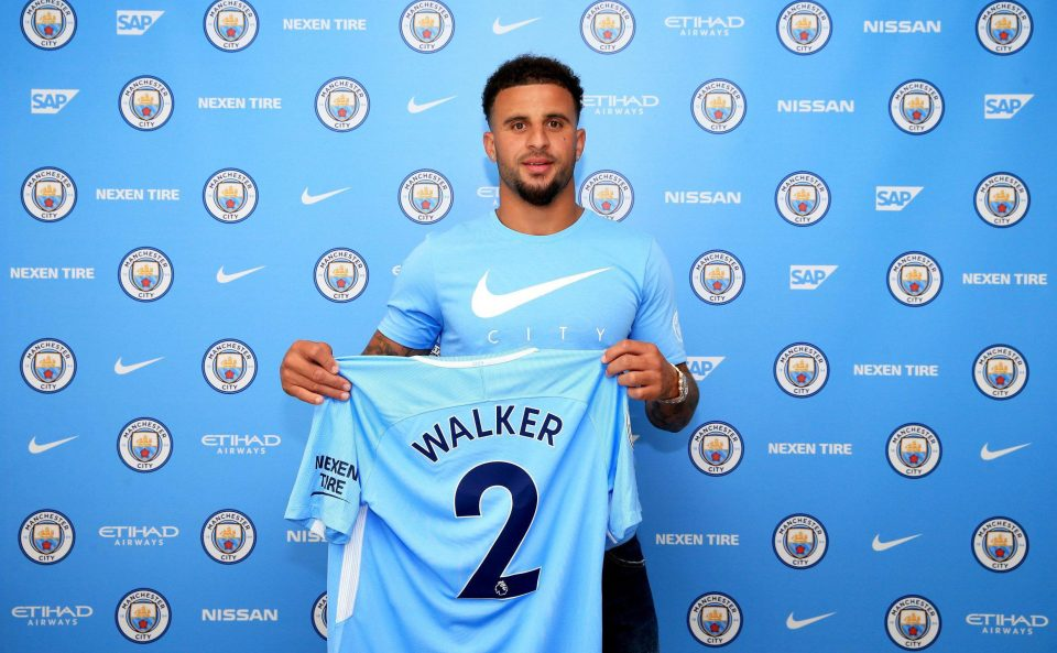 kyle walker signs 2017 to 18