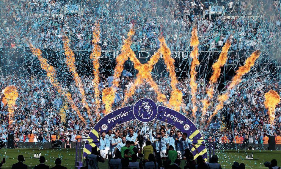 premier league presentation v huddersfield 2017 to 18