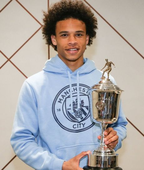 sane pfa young player of the year 2017 to 18