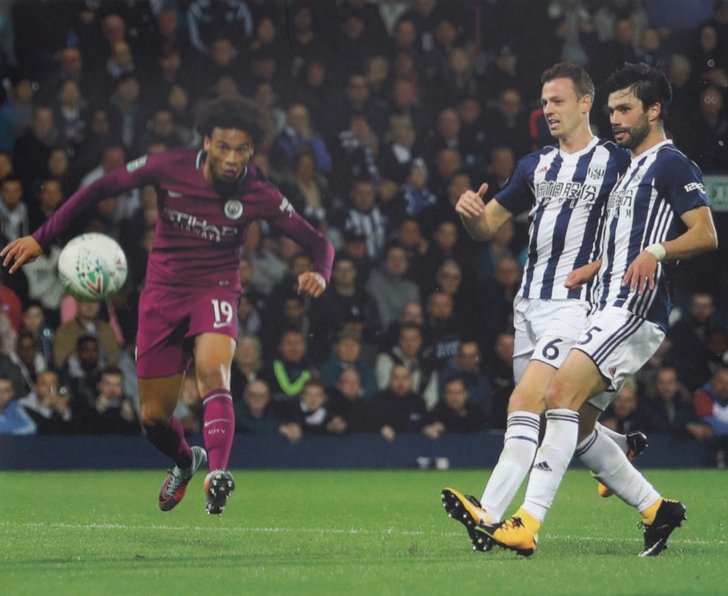 west brom league cup 2017 to 18 2nd sane goal