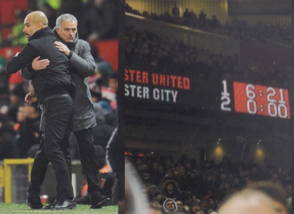 man united away 2017 to 18 score