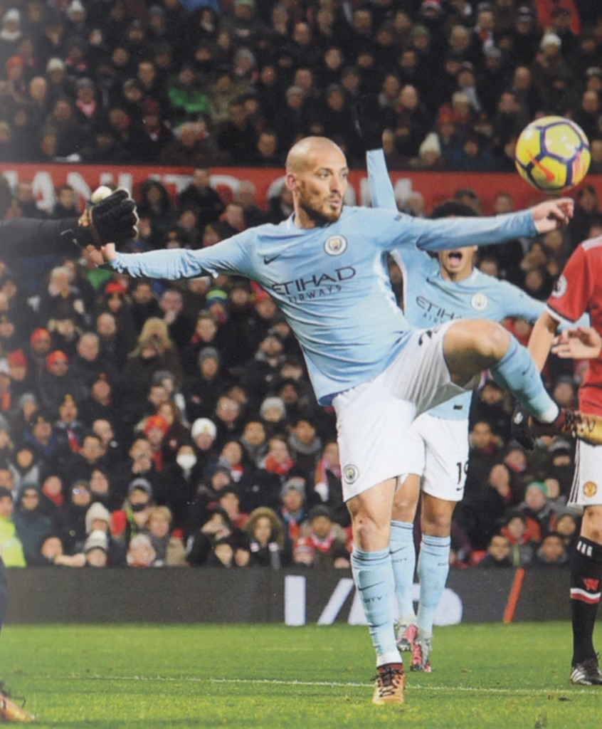 man united away 2017 to 18 silva goal2