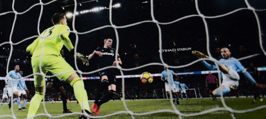 west ham home 2017 to 18 silva goal