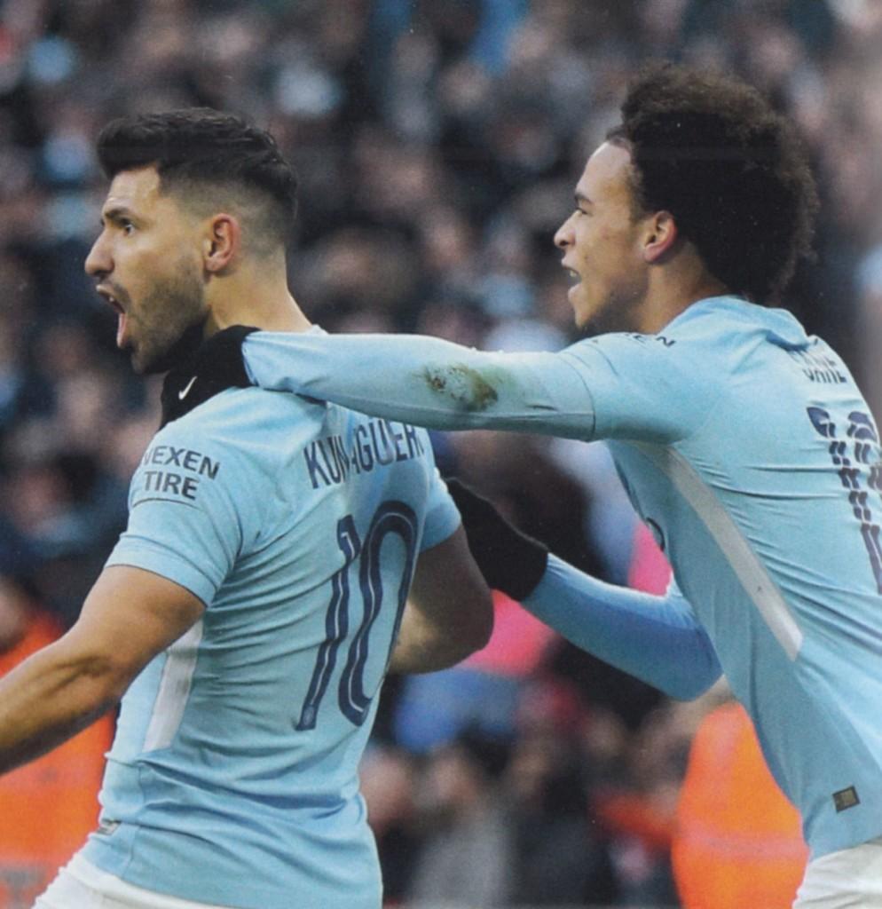 arsenal league cup final 2017 to 18 aguero goal2