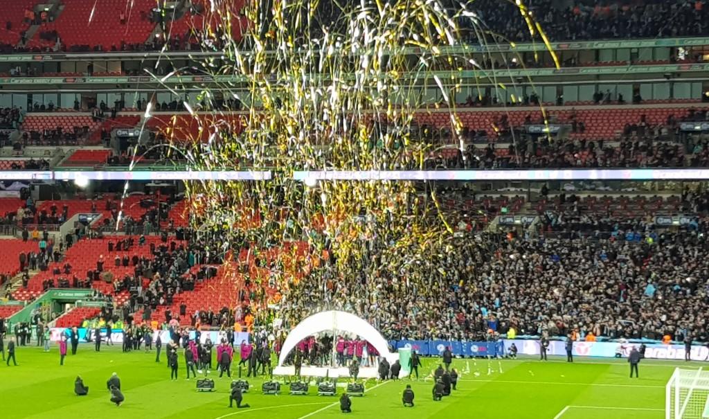 arsenal league cup final 2018 celeb