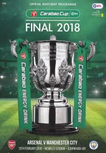 arsenal league cup final 2018 prog