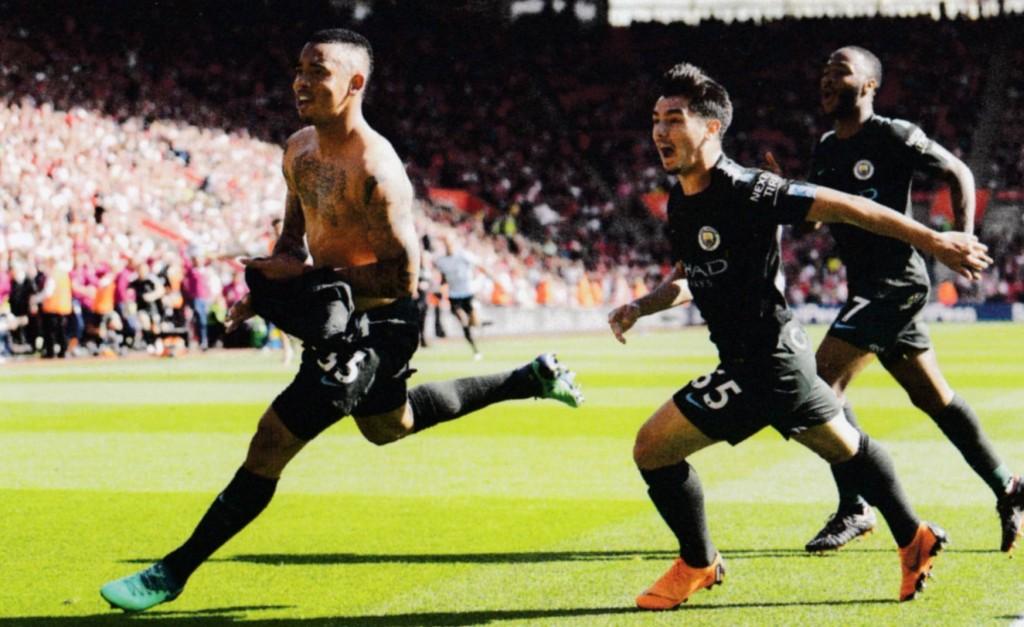 southampton away 2017 to 18 jesus goal 2