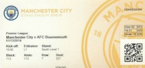 bournemouth home 2018 to 19 ticket