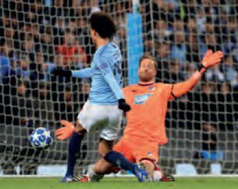 hoffenheim home 2018 to 19 2nd Sane goal