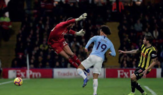 watford away 2018 to 19 sane goal