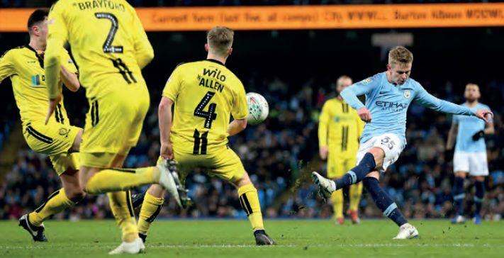 burton home 2018 to 19 zinchenko goal