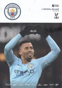 Manchester City v Crystal Palace 2018/19 - City Til I Die