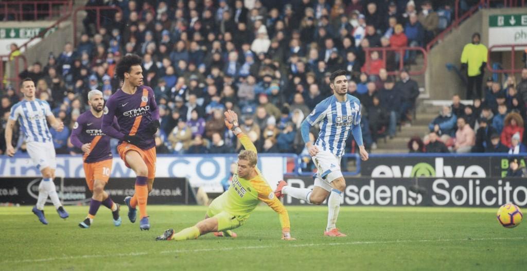 huddersfield away 2018 to 19 sane goal2