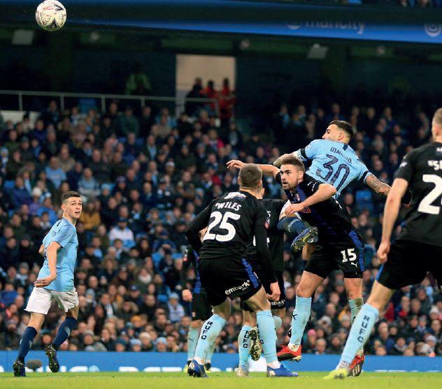 rotherham 2018 to 19 otamendi goal