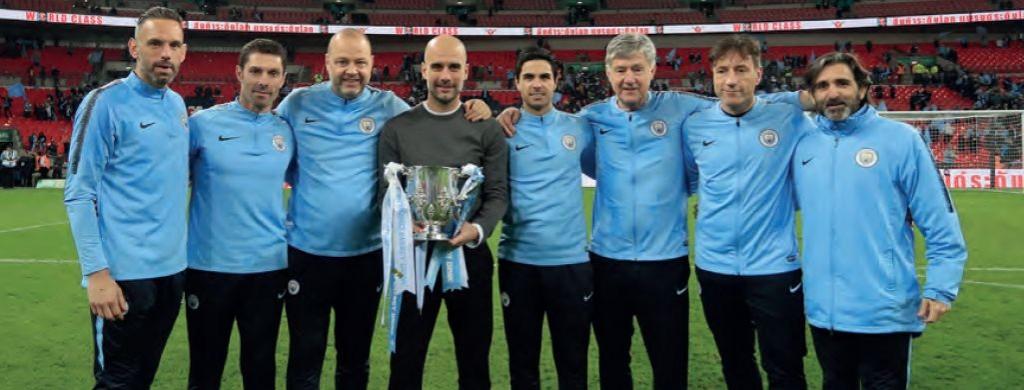 Chelsea Carabao cup final 2018 to 19 backroom