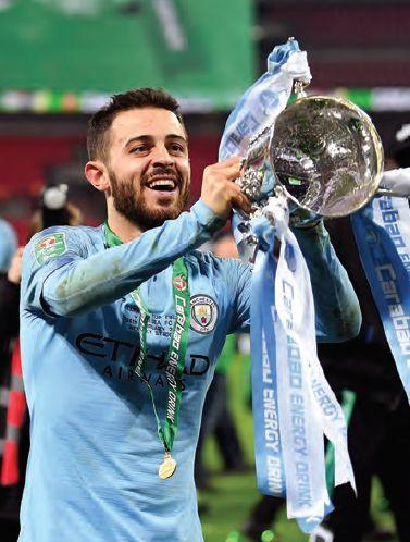 Chelsea Carabao cup final 2018 to 19 bernado cup celeb